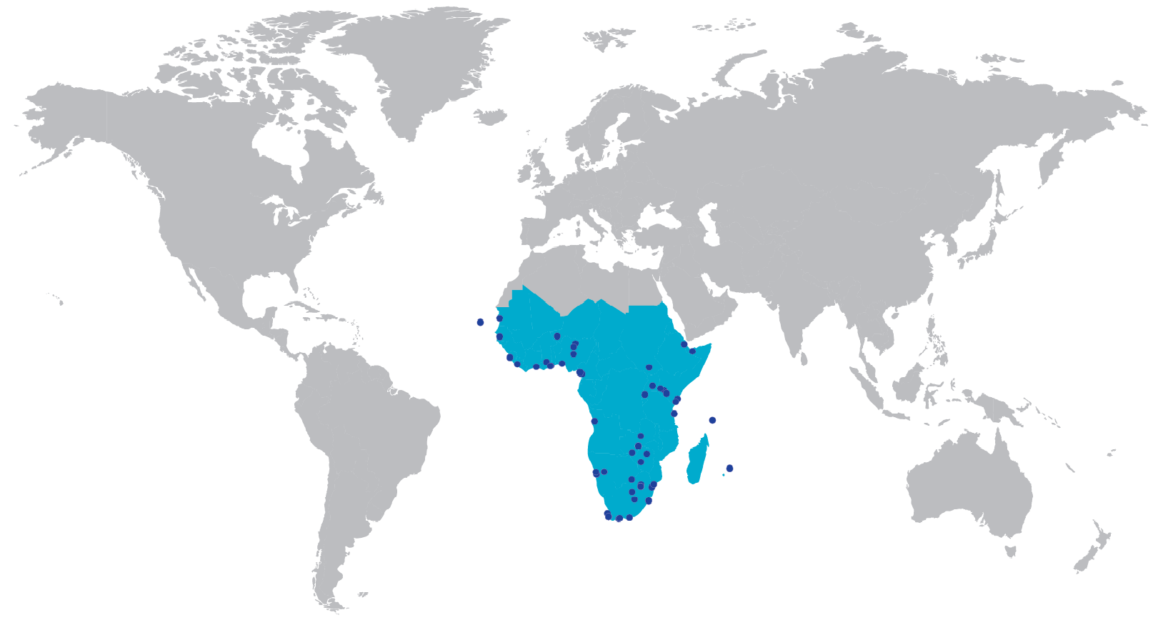 PKF offices in Africa
